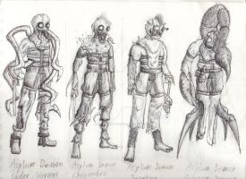 Asylum Mutants by Randomman187