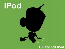 iPod-gir by krispykrunchy