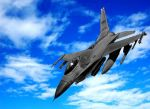 Fighter Jet-WithBackground by HoustonTxArtist