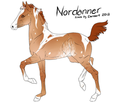 Nordanner Foal 2108 by TheThievingMagpie