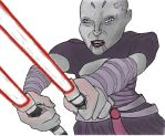 Star Wars Ventress Assault by WarpFactor5