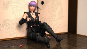 Ayane - DOA5 by James--C