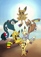 World's strongest Pichu - Contest entry - Wordchus by PRINCESS-CHEZ