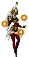 Justicar Syndra by Shadow-Hunter446