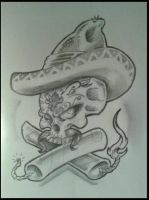 MEXICAN SKULL by HIGHTRIP