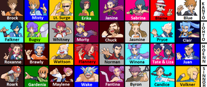 Gym Leaders- Complete by chrisofduty6