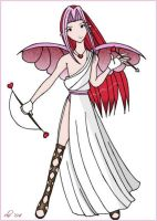 Cupid is a bishounen... by corilefay