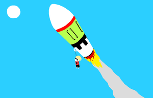 Dave Strider with added rocketry by Benerhos