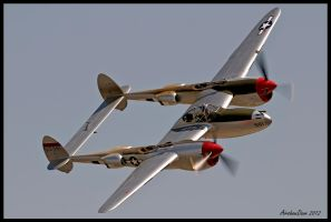 P-38 Lightning 2012 by AirshowDave
