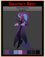 Galatine's Army: Vron Virtouso/Haunter by Cold-Creature