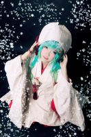 Yuki Miku 2013 - Hello Winter! by nyaomeimei