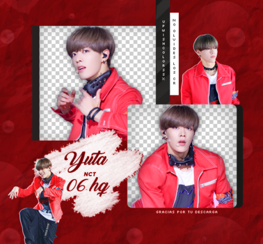 Yuta PNG PACK #1| NCT by UpWishColorssx