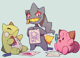 Dolls by extyrannomon