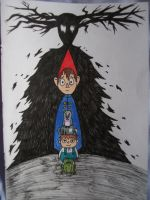 Over the Garden Wall doodle by IRPieday