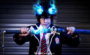 Ao no Exorcist Okumura Rin 02 by LALAax