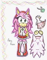 Older Amy Rose by SilentRain12