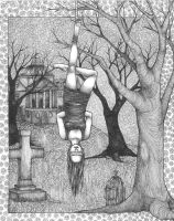 The Hanged Woman by raevynewings