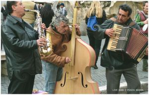 band at piazza navona by mR-StIck