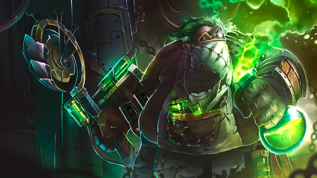 Surgical Precision Pudge Loading Screen by MrScrake