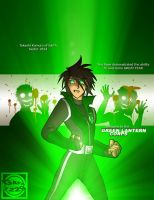 HOTD's Green Lantern Takashi by What-the-Gaff