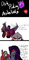 doodle comic: picking autobots by Nnoca