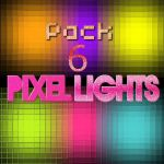 Pack 6 pixel lights png by YareliLennon