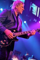 Rush in Hamilton:  Alex Lifeson III by basseca