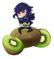 Dat guy can't get enough of kiwis by xVenomousVanni