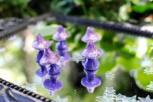 Purple Shrooms Fairy Ring by Miss-Evergreen