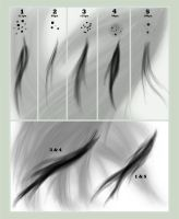 Hair Brush Set for GIMP by jesuslover488448