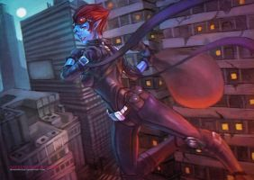 Safecracker Evelynn by MonoriRogue