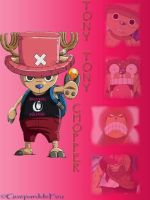 Montage of Tony Tony Chopper by GueparddeFeu