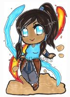 Korra by CuddlyCapes