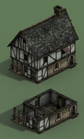 medivel house by handfighter