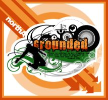 grounded logo by eggay