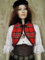 Steampunk-folklore inspired bolero PCCB2-9 by JanuaryGuest