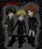 2P Hetalia - Bad Touch Trio by Imeria
