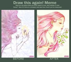 Draw This Again - Spring by HanaLynn