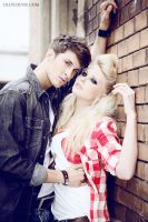Dominik + Sandy II by MissHeroin