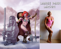 Laurie Red Sonja Larson By Ulics by zenx007