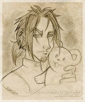 Ardin and the Mystical Teddy by cybre