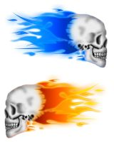 Skulls Colorized by GMCPhotography