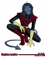 X-men Evolution-Nightcrawler by Tsukiko-stock