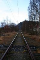 Railroad to nowhere by Datasmurf