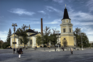 Finnish churches part III by Karelen