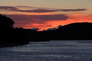 Morar Bay Sunset by irwingcommand