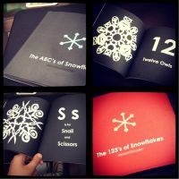 The ABC's and 123's of Snowflakes by gubongee