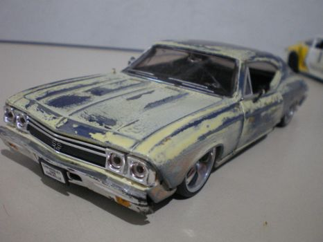 Chevelle by evandrominiaturas