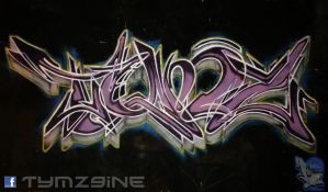 Wht Outlines by Tymz9ine TOA Aug 2014 by RKRichards