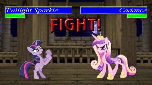 Pony Kombat Tournament Round 1, Battle 10 by Mr-Kennedy92